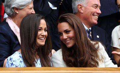 Pippa and Kate Middleton - a close and loving bond.