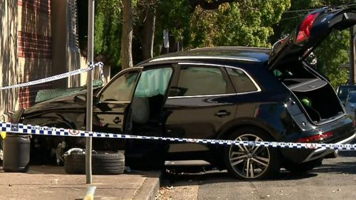 A child and man are in critical conditions after being hit by an Audi outside a Neutral Bay school.