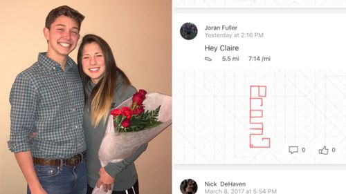 US teen woos date by running 8.9km to spell 'prom?'