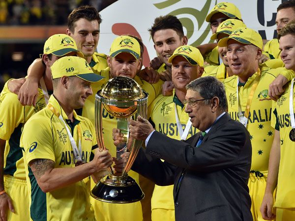 ICC bosses bicker over Cup trophy