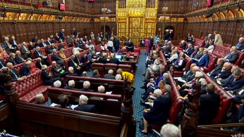 The House of Lords wants to give MPs a greater say over the Brexit process. (AP).