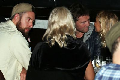 Later on that night, Bingleton were spotted having a bite to eat with Lara's friends at Fratelli Paradiso in Potts Point. <br/><br/>Source: Matrix Media