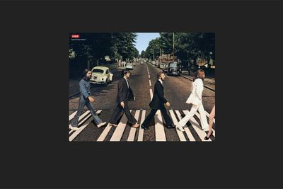Little do <I>Beatles</i> fans know, but Ange's right leg actually directed that famous Abbey Road photo shoot.