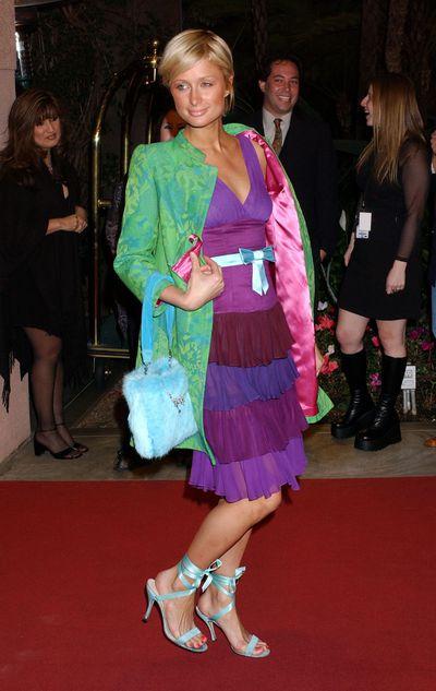 Paris Hilton during 2004 Clive Davis Pre-Grammy Party, Beverly Hills