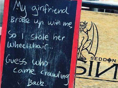 Cafe's disabled joke sparks outrage