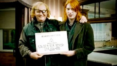 Domhnall and Brendan Gleeson
