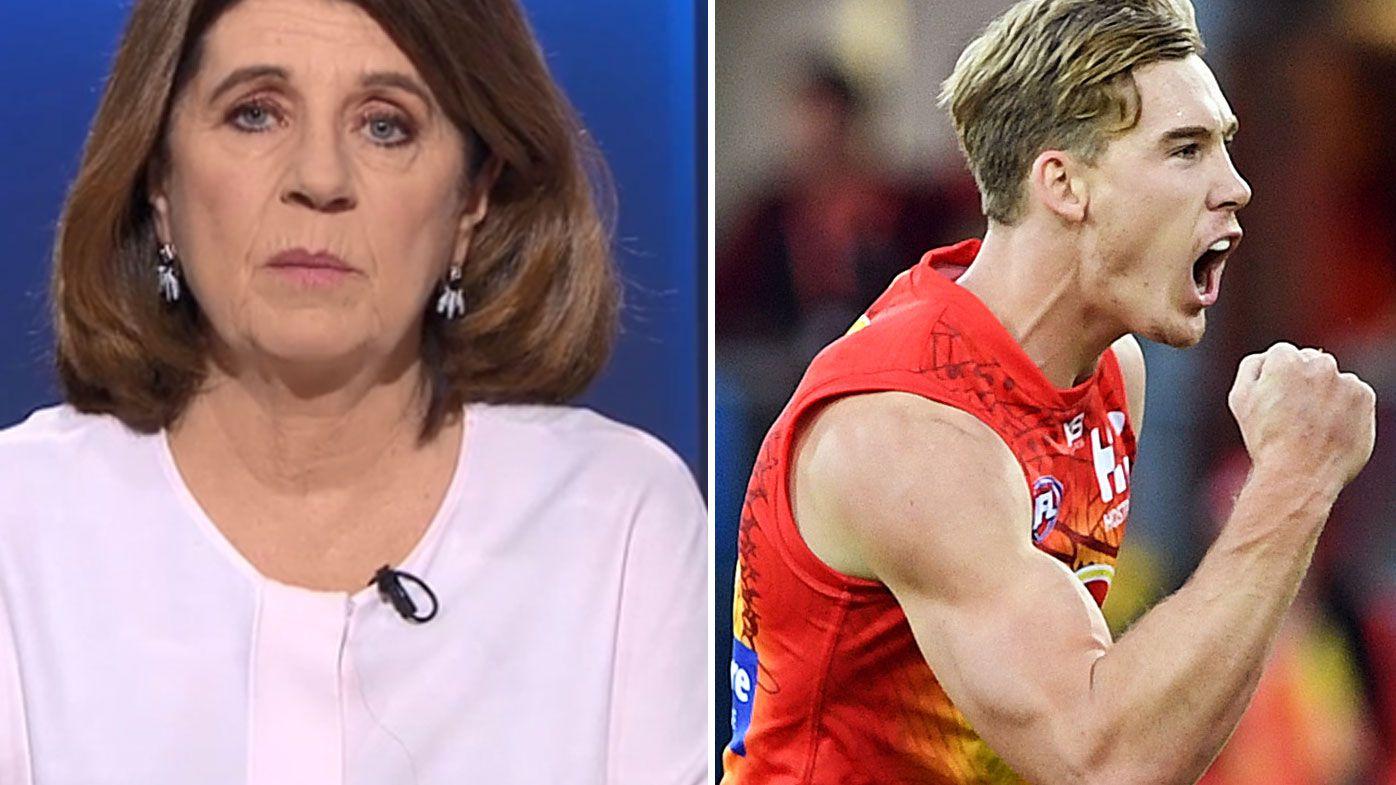 Caroline Wilson warns AFL on incentivising Tom Lynch to remain at Gold Coast Suns