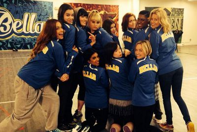 "@rebelwilson: ""Team Bellas!!! #PitchPerfect2"""