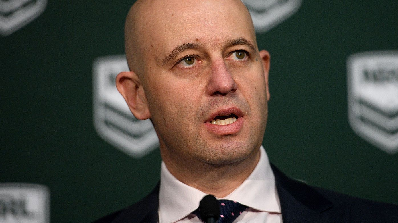 NRL boss Todd Greenberg has addressed the South Sydney sexting saga