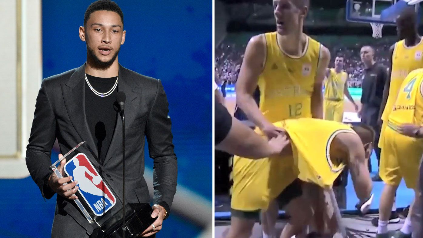 Basketball: Ben Simmons opens up on 'Basketbrawl' that engulfed Australian Boomers