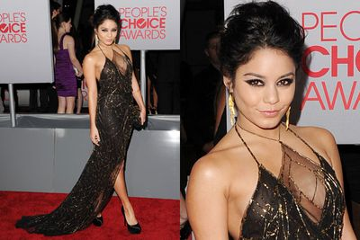 Vanessa Hudgens wows the crowd in this sexy number.