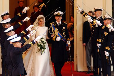 <b>Became royalty in:</b> The Netherlands</b><P> When Argentinian Maxima met Crown Prince Willem-Alexander at a party in Spain, she had no idea he was a royal.