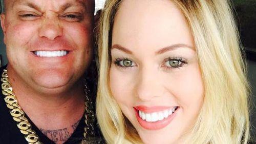 Alleged Rebels associate Dean Grant O'Donnell and Felicia Djamirze.