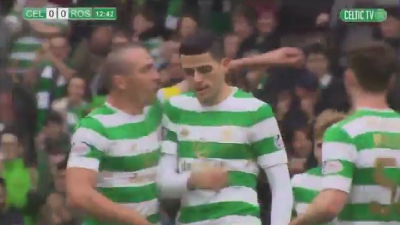 Rogic scores long-range screamer for Celtic