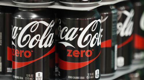The future of Coke Zero is on a slippery slope. (Getty).