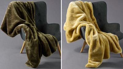 Pereira Faux Fur Throw