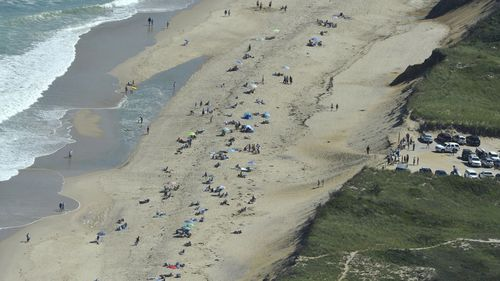 The student was the state's first shark attack fatality in more than 80 years but the second attack victim this summer at the holiday spot of Cape Cod, south of Boston.