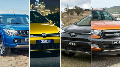 Utes dominate Australia's favourite cars