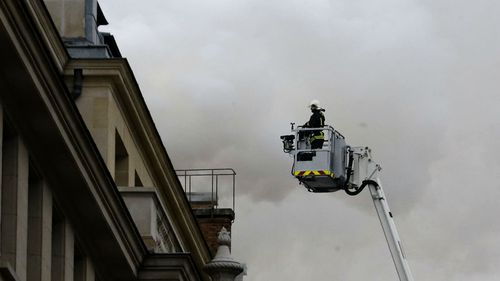 Fire rips through Ritz Hotel in Paris just weeks before reopening