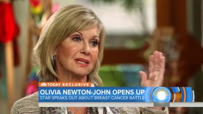 Olivia Newton-John defends using marijuana as treatment for breast cancer: 'It's a healing plant'