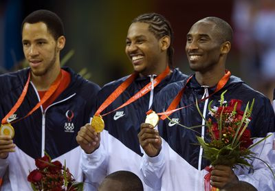2008: Wins gold medal at Olympics
