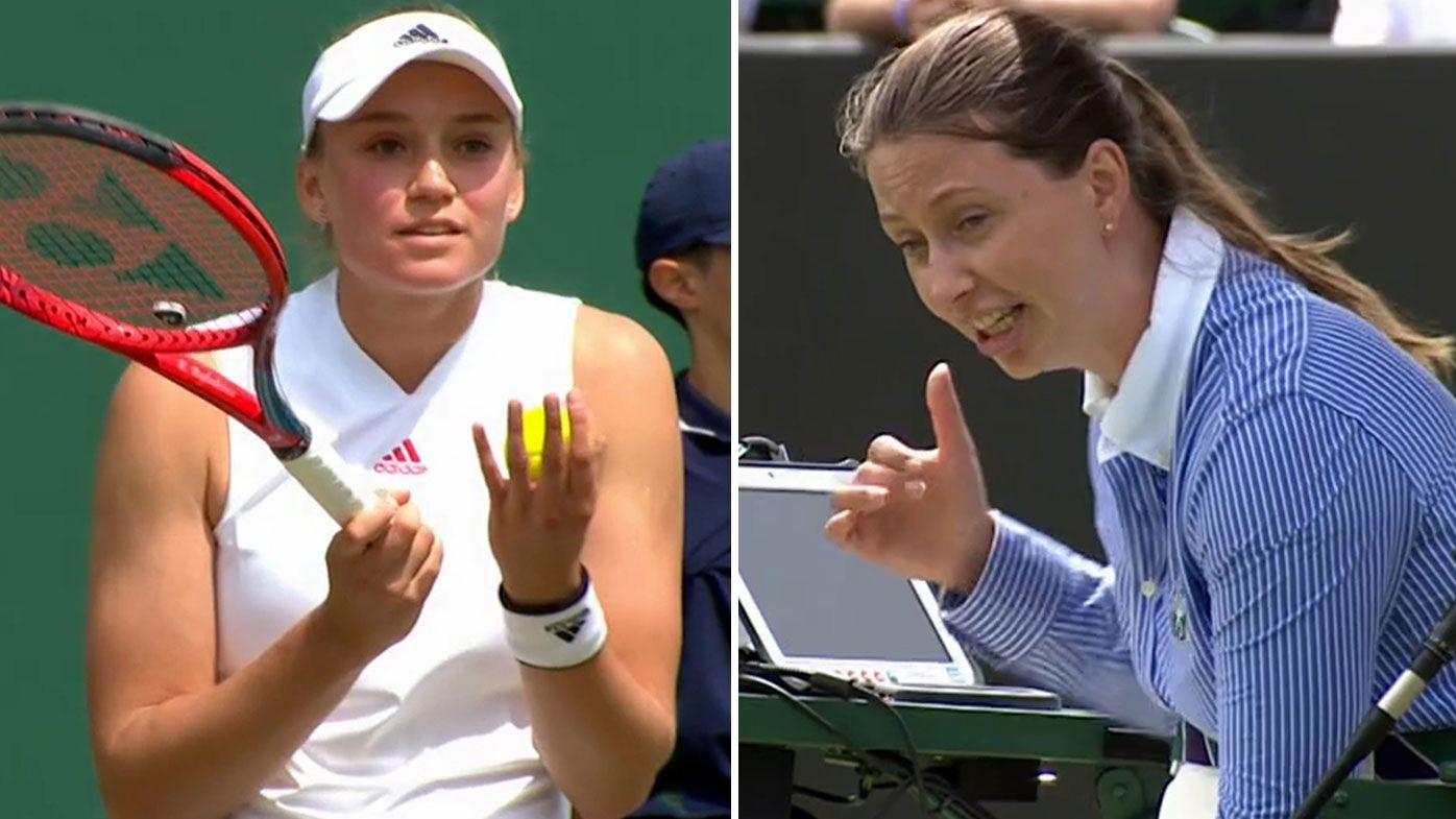 'Are you getting fined?': Elena Rybakina fumes at chair umpire in loss to Aryna Sabalenka