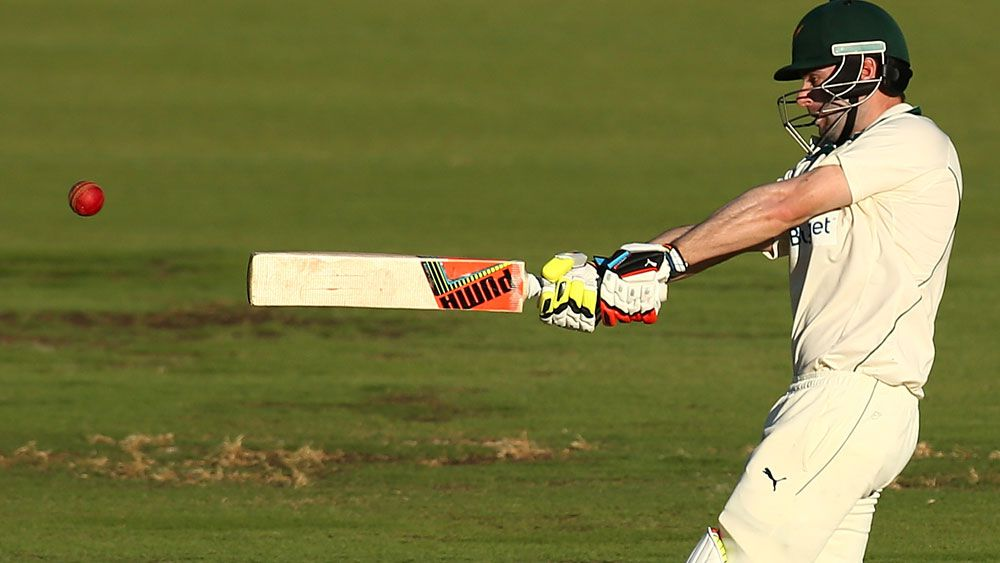 Alex Doolan has suffered a concussion and won't bat again. (Getty Images)