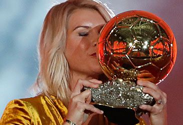 Daily Quiz: Ada Hegerberg won which award just before being asked to twerk?