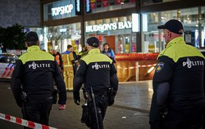 The Hague attack: Teenage victims of Black Friday stabbing are not known to each other as hunt continues for suspect