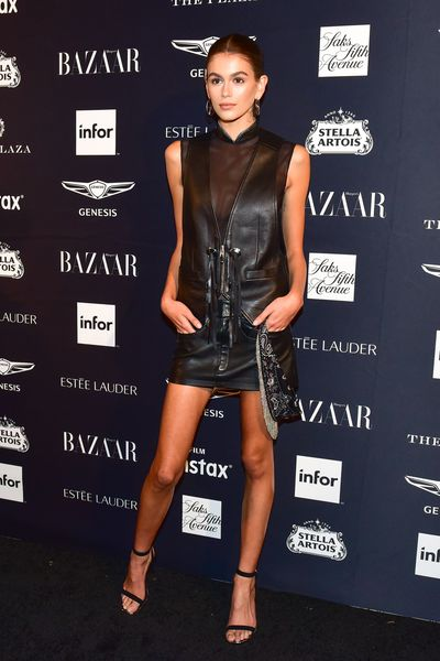 Model Kaia Gerber at the Harper's Bazaar Icons party in New York, September, 2018