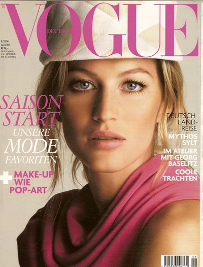 Vogue Germany August 2006 by Patrick Demarchelier