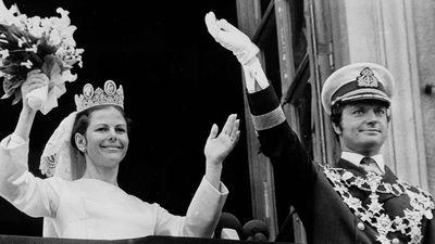 King Carl Gustav of Sweden and Silvia Renate Sommerlath