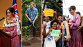 Royals' blissful then chaotic day in Fiji