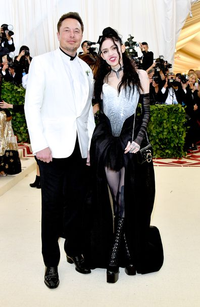 Elon Musk and Grimes, Met Gala, 2018