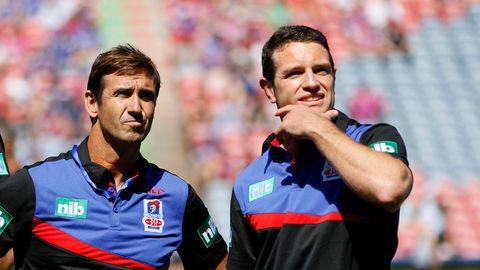 Danny Buderus and Andrew Johns