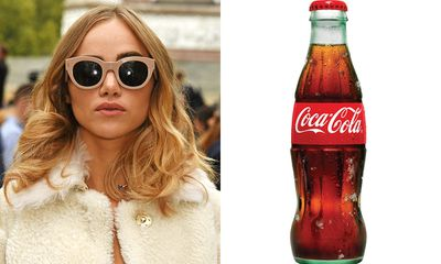 Washing your hair in Coca-Cola
