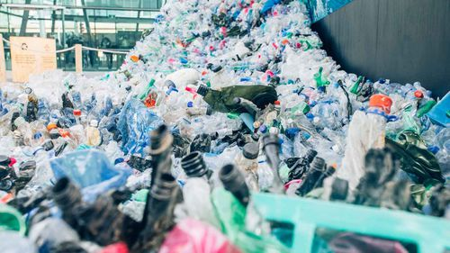 Single-use plastic bags are slowly being phased out across the world. Picture: AAP