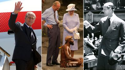 Prince Philip's memorable visits to Australia