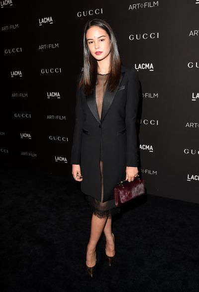 The actress at the LACMA Art + Film Gala in LA, November 2014.