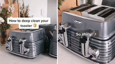 Mum shares ridiculously easy hack for cleaning your toaster on TikTok