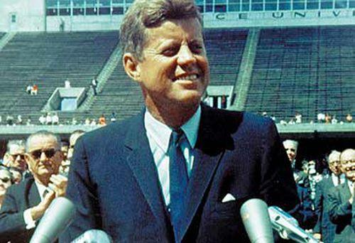 John Kennedy in 1962 (AFP)