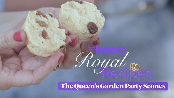 Royal Recipes: The Queen's Garden Party Scones