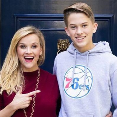 Reese Witherspoon, son, Deacon Phillippe, girlfriend, Marine Degryse