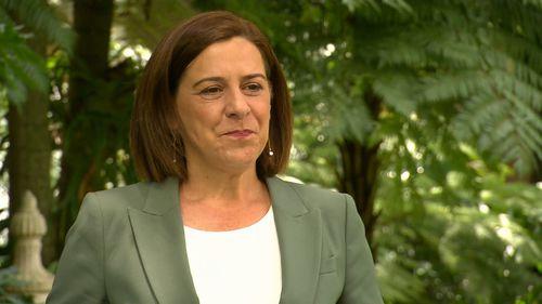 Deb Frecklington has announced she will stand down as LNP QLD leader.