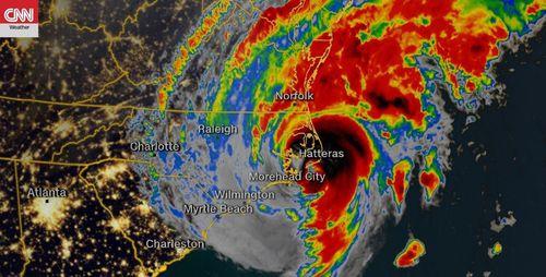 Hurricane Dorian's current satellite image as of Friday, September 6, 2019, 6:51amET.