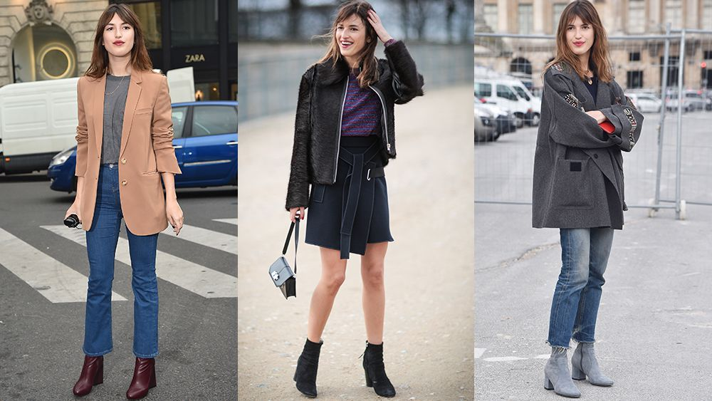 Ankle boots: The two-step trick to French girl style.