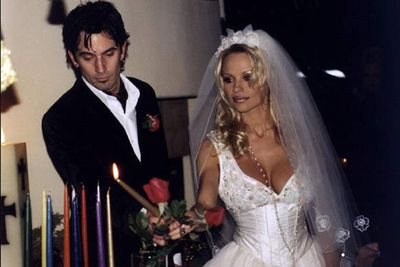The <i>Baywatch</i> babe married the Motley Crue drummer after they'd been dating for just four days. Even more shocking than the speed of their nuptials was the sex tape they made on their honeymoon!