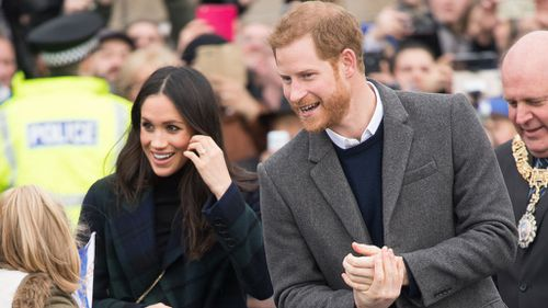 Meghan Markle and Prince Harry will marry on May 19.