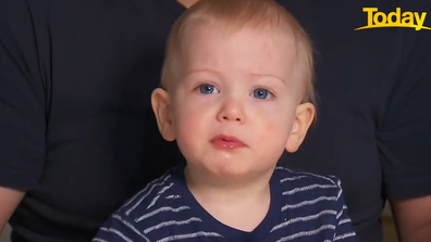 The Madderns hope George's life won't be impacted too much, due to the early diagnosis.