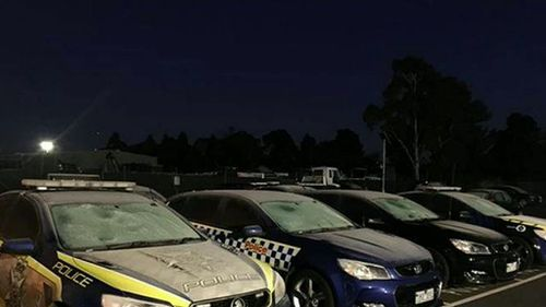 A frost warning was issued for the entire Victorian state this morning. (Vic Police)